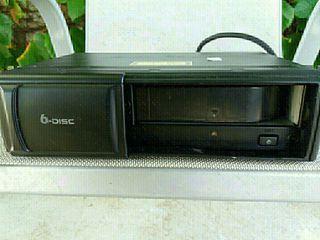 cargador de 6 CD