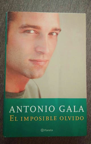 Libro El imposible olvido Antonio Gala