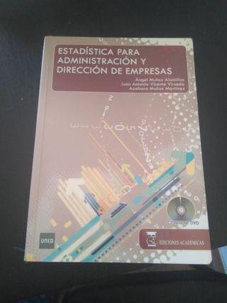 libro introducción a la estadística ADE UNED