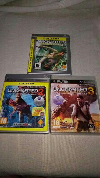 Uncharted Saga Ps3