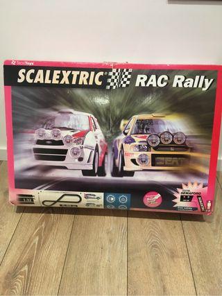 Scalextric rally pistas