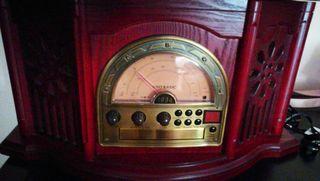 radio cd cassette y plato