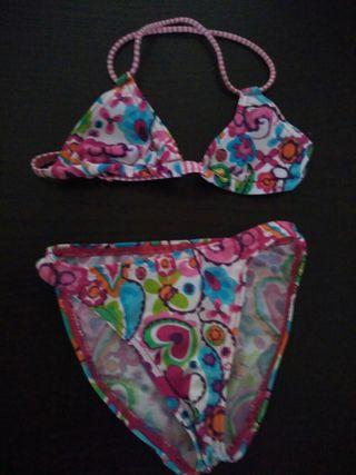 Dos bikinis talla 6-8 años