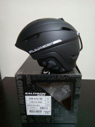 Cascos bici Salomon Ranger Black Matt