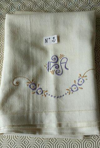 Mantel N-2 individual de Hilo