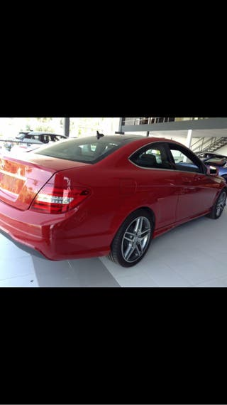 Mercedes-Benz Clase C coupe 2015 AMG package
