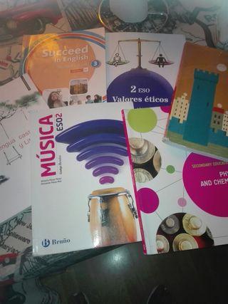 libros de texto de 2 de ESO bilingüe para Greco
