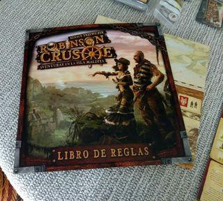 Robison Crusoe juego mesa