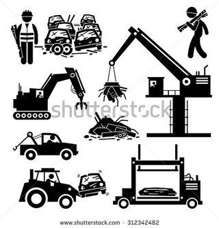 se recogen coches para dar de vaja defenitiva(DGT)