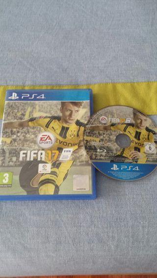 Fifa 17 para PS4.