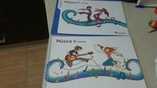 libros musica 6 de primaria