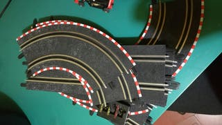 Scalextric circuito ninco top speed