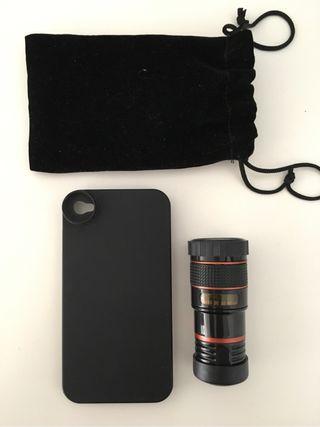 Lente zoom 8x para iPhone 4 / 4S