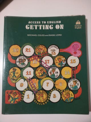 libro de ingles + 2 cuadernos de ejercicios