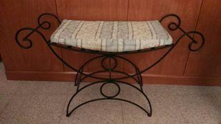 sillón forja