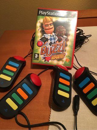 Buzz mandos y juego