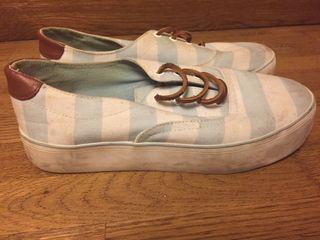 Zapatillas rallas