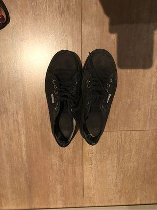 Zapatillas victoria negras n 38