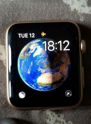 Apple watch series 1 black gold 42mm