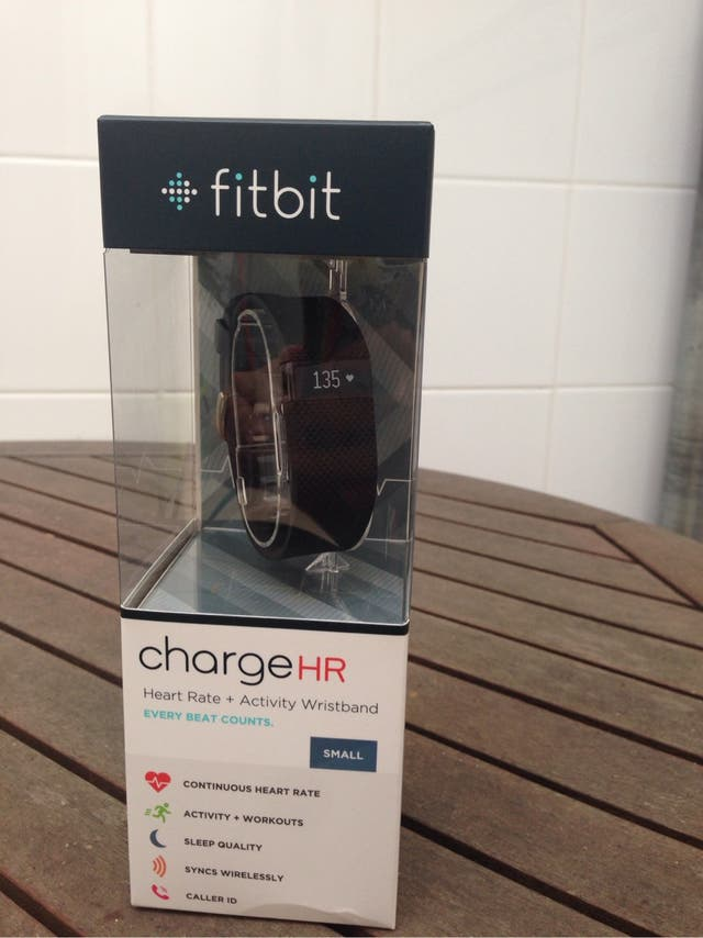 Fitbit Charge HR - Nuevo