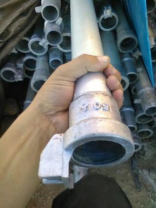 tubos regar aluminio seminuevos