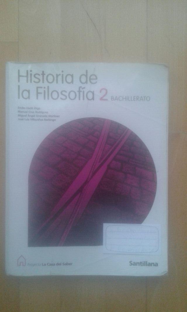 Libros Geografia, Filosofia e Historia 2BACH