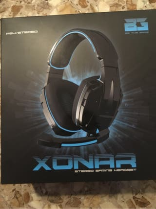 Auriculares gaming PC/PS4