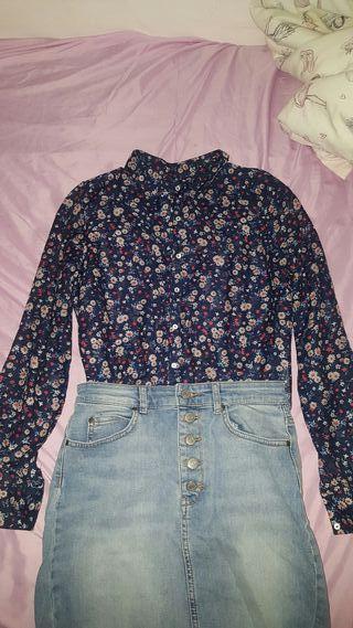 Camisa mujer stradivarius