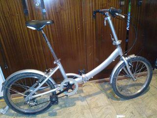 Bicicleta Plegable 6 v