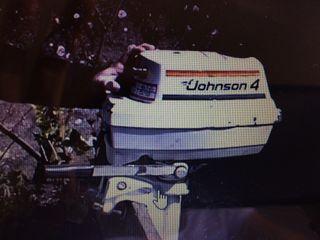 Motor Johnson 4CV