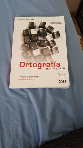 Libro de Ortografia