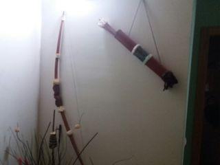 arco decorativo y flechas