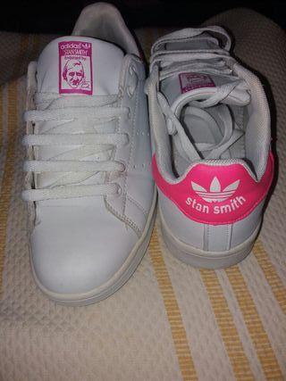 Adidas sminth rosa