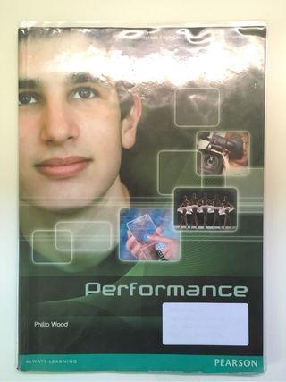 Libro inglés Performance 1 Ba