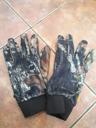 guantes caza