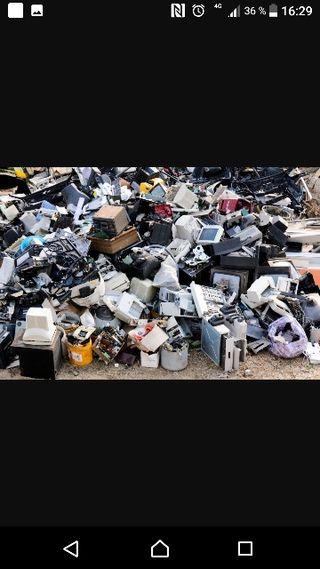 Chatarrero gestión de residuos