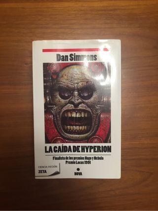 """Libro """" La caída de Hyperion """" de Dan Simmons"""