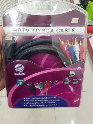 cable hdmi a RCA nuevos