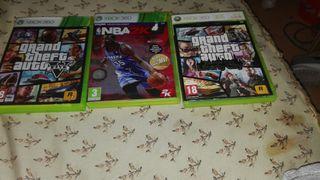 Juegos y consola Xbox 360