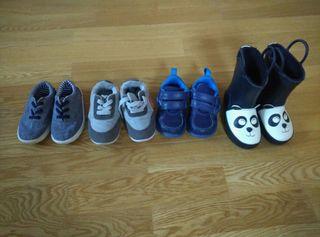 Zapatillas y botas Niño Talla 21-22