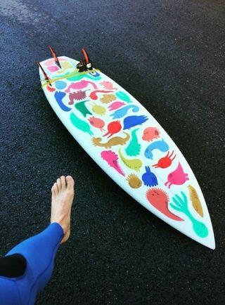 Tabla surf para olas pequeñas