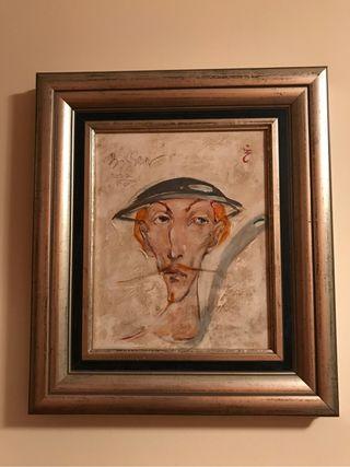 Cuadro pintor famoso