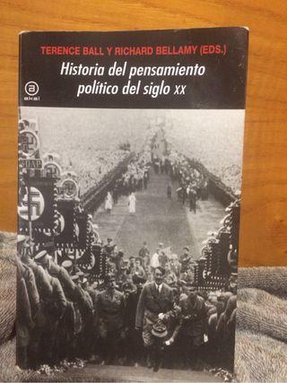 Historia del pensamiento político del siglo XX