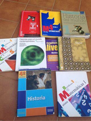 Libros de texto Bachillerato
