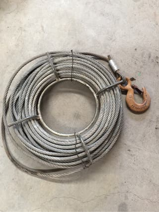 Cable trenzado