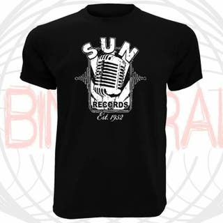 camiseta SUN RECORDS