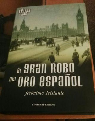 Libro el gran robo del oro español