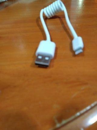 cable cargador iphone
