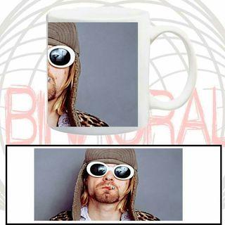 taza Nirvana Kurt Cobain
