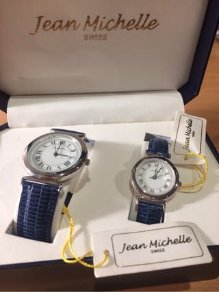 Juego dos relojes Jean Michell